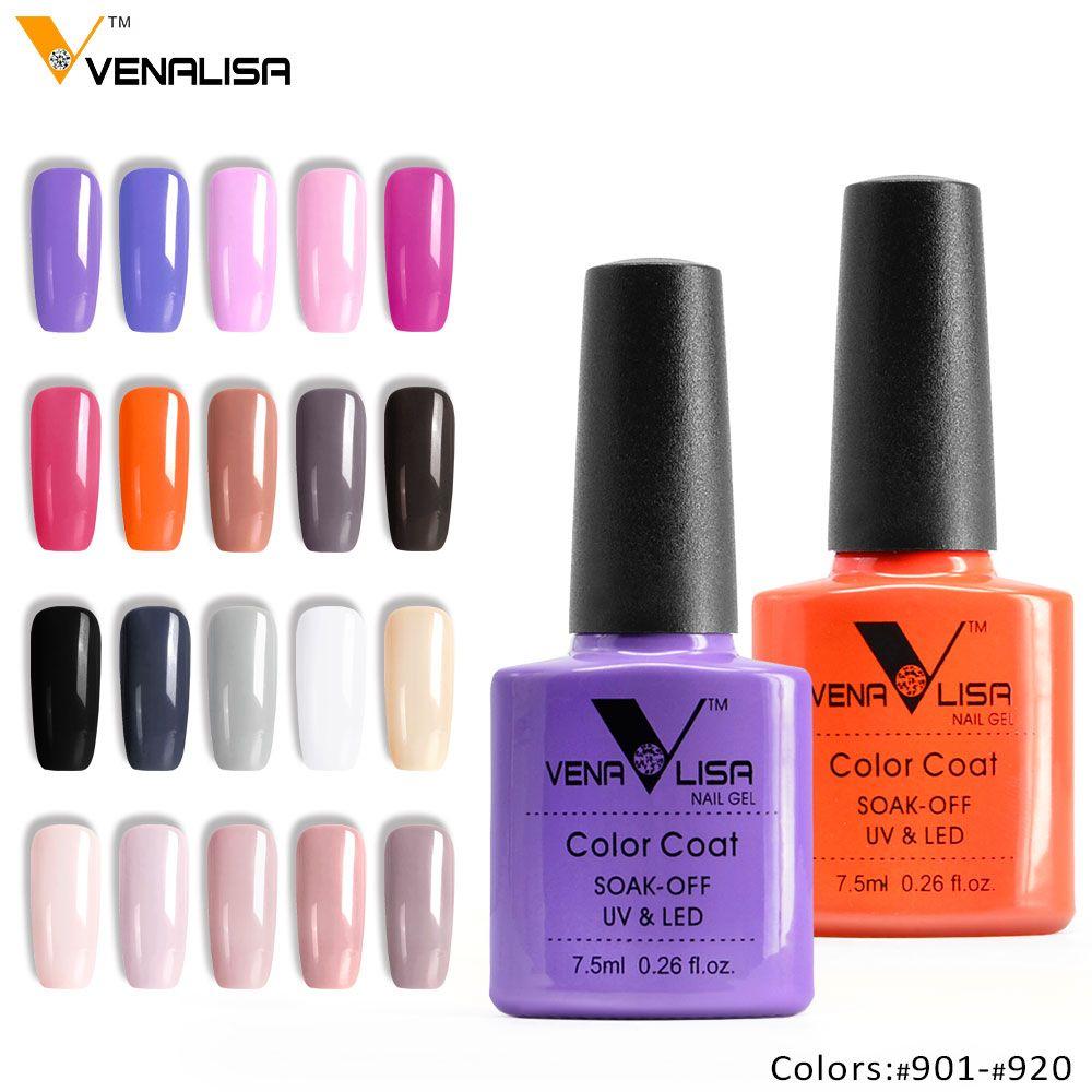 61508 venalisa 30 colors nail art diy soak off gel uv led 7.5ml nail ...