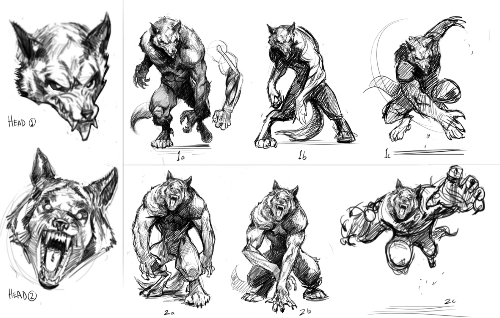 Creature Artists Werewolves