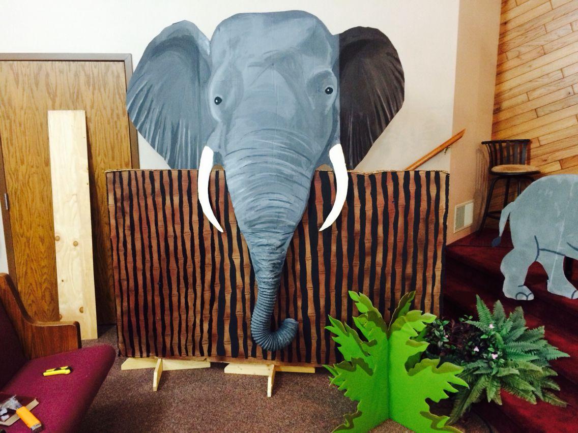 Elephant Prop For Aberdeen Alliance Camp Kilimanjaro