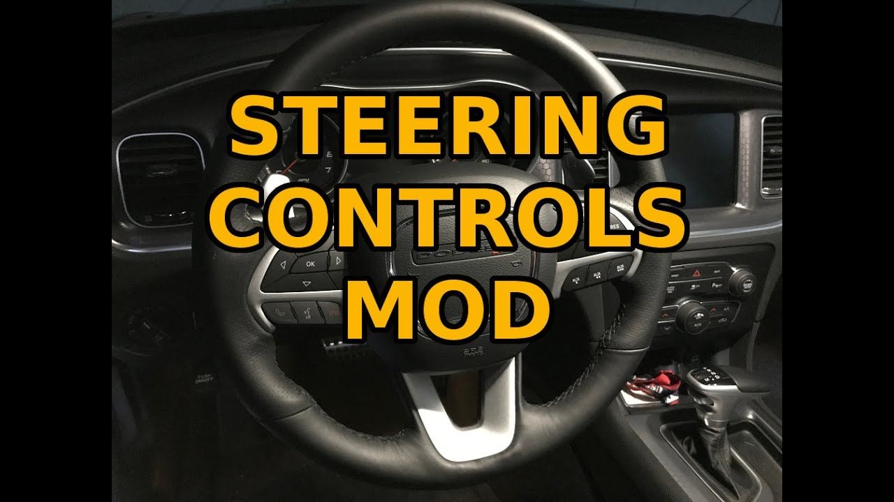 New Mod Steering Wheel Control Auxiliiary Buttons For Tazer W Install 4k Youtube Steering Wheel New Mods Nissan Logo