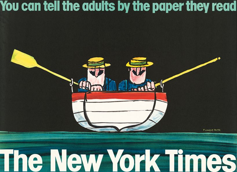 Interview Tomi Ungerer Discusses His Satire And Adult