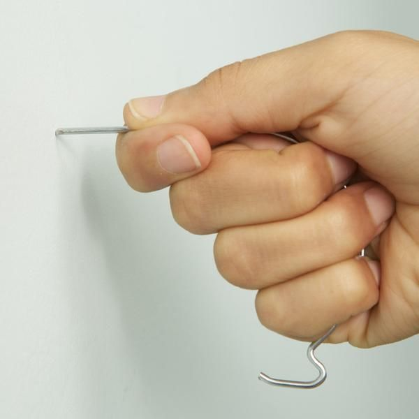 J Hooks Hanging Solutions That Will Not Damage Walls Wall
