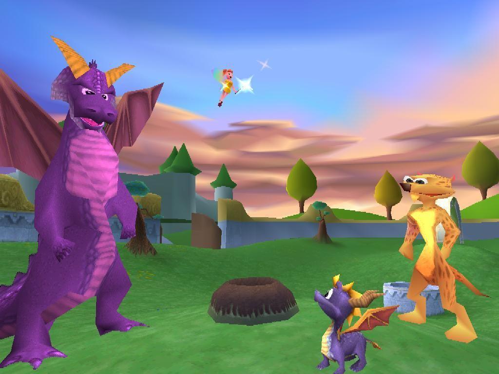Spyro Year Of The Dragon1 Jpg 1024 768 Year Of The Dragon