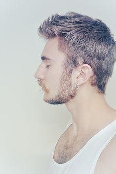 silver hair men tumblr  google search  hair and beard