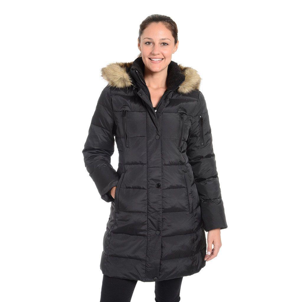 Women S Fleet Street Down Jacket Size Medium Black Ropa [ 1024 x 1024 Pixel ]