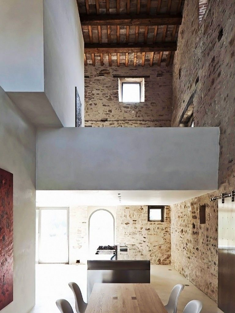 Cozinha Com Parede R Stica Architecture Pinterest Interiors
