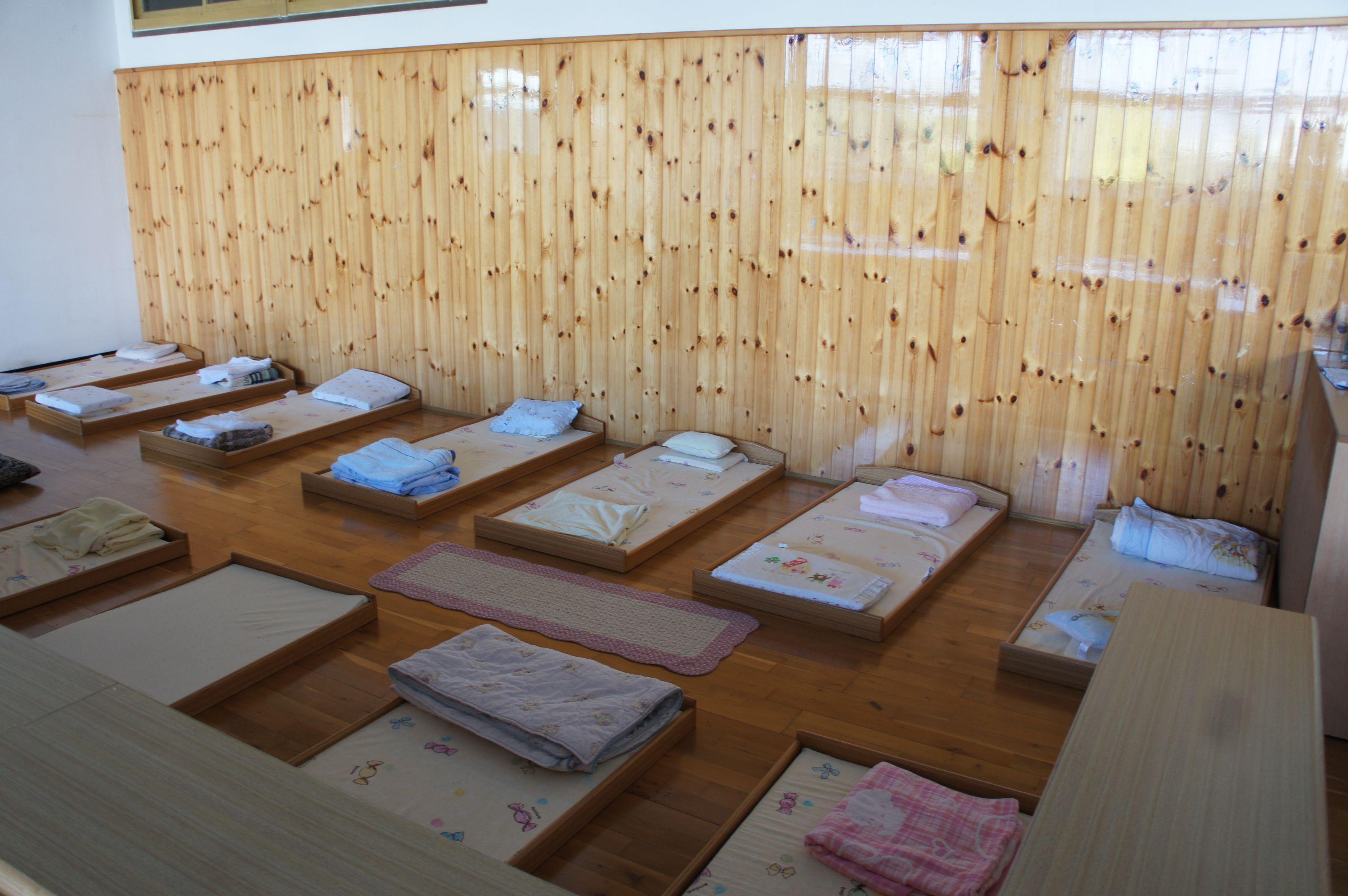 Toddler Classroom Design Ideas ~ Toddler community nap area montessori north