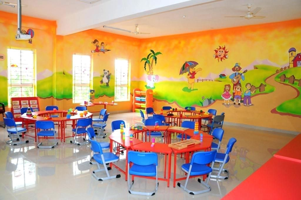 Nursery School Garden Ideas Nursery School Interior Design Concept Laboratories School Has Established W School Interior Classroom Interior Kindergarten Design