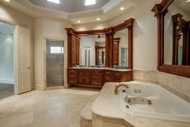 Million Dollar Master Bathrooms Dallas Home Builder