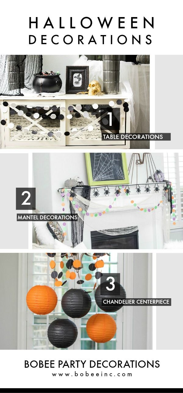 Decorate your halloween ( non scary ) party decorations Easy ways to - create halloween decorations