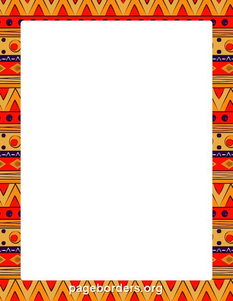 African Border | Cartões decorados, Etiquetas para ...