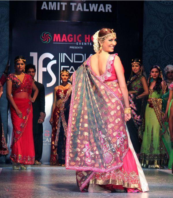 Sexy Pooja Misrra At Bridal Fashion Week