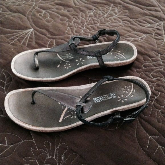 Kenneth Cole Reaction Sandals Kenneth Cole Reaction sandals bronze. Very cute for summer. Kenneth Cole Reaction Shoes Sandals