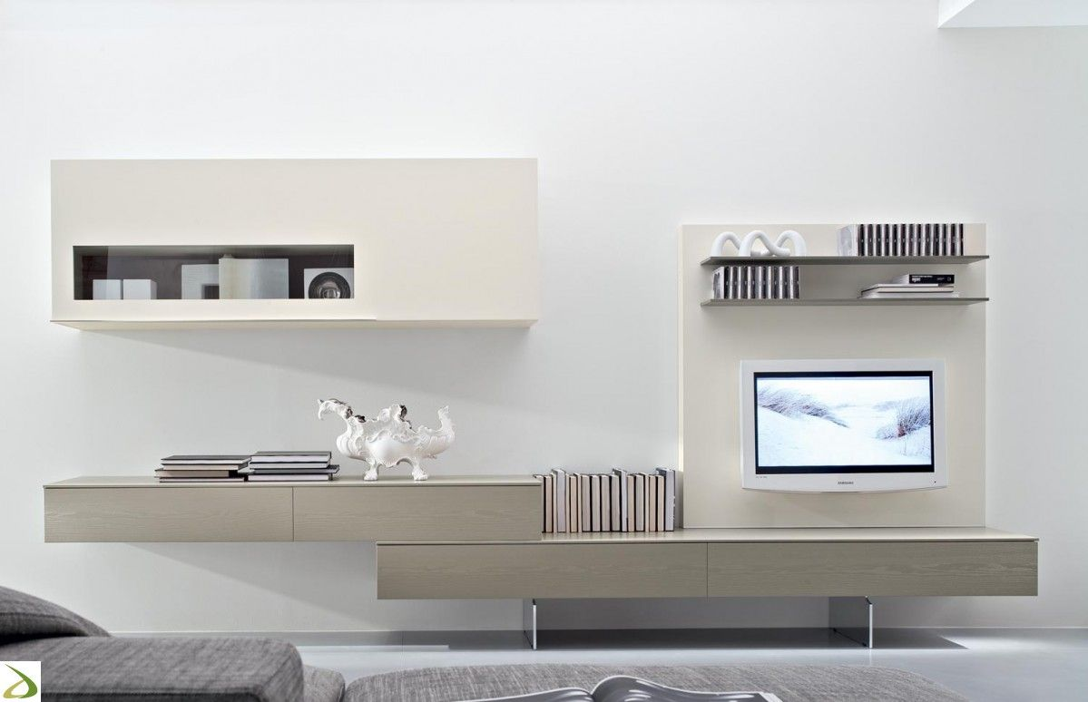 Resultado de imagen de tv console with feature wall | centrs de ...