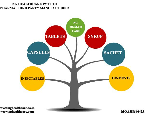 NG Healthcare pvt ltd is one of the leading pharma third party - copy business blueprint for manufacturing