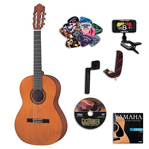Yamaha Cgs103aii 3 4 Size Classical Guitar Bundle W Legac Yamaha Guitar Acoustic Guitar Accessories Classical Acoustic Guitar