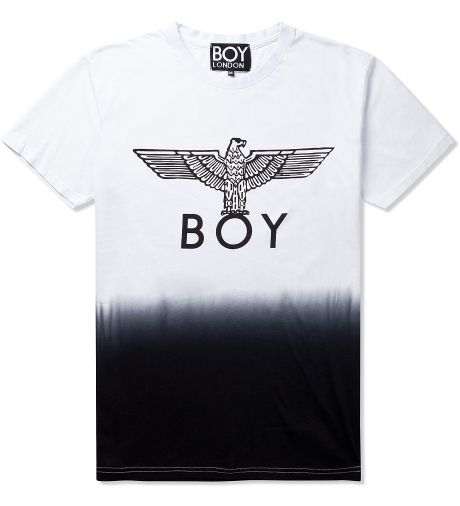 boy london t shirt in dip dye
