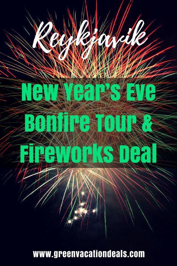 Reykjavik New Year's Eve Bonfire Tour & Fireworks Deal
