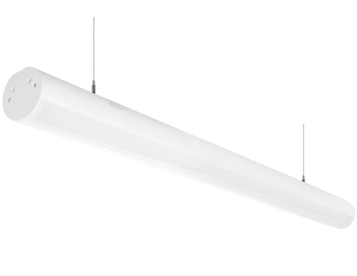 4 Foot Led Suspended Linear Fixture 50w 100 277v Fixtures Industrial Light Fixtures Linear Lighting
