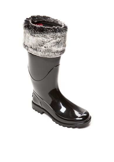 Tommy Hilfiger Matty Faux Fur Cuff Rainboot