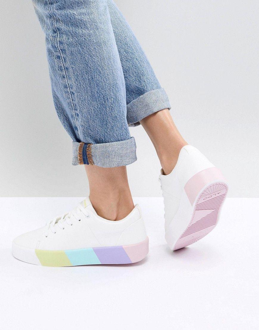 Damen Sneaker ALDO Sneaker mit kontrastierender Sohle