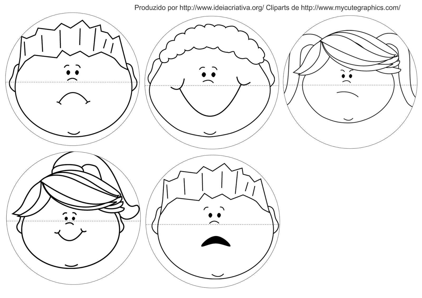 Jogo Pedagogico Trabalhando Expressoes E Sentimentos Sentimentos