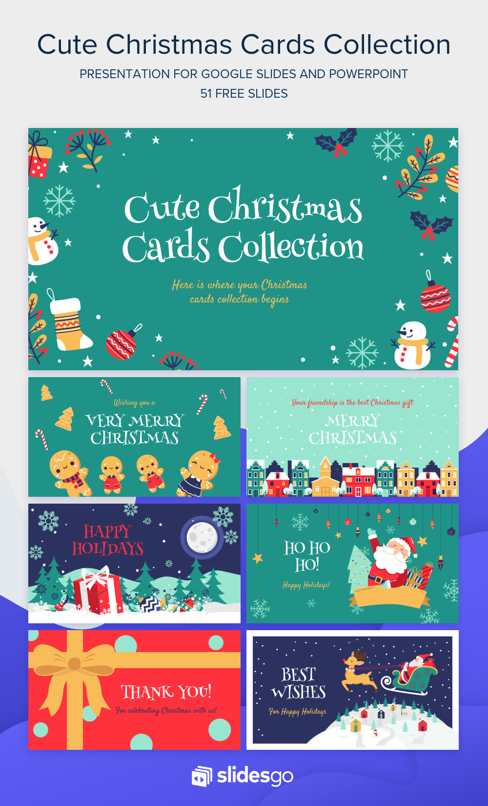 Send These Cute Christmas Cards To Your Family And Friends Download Them As Googl Cute Christmas Cards Christmas Powerpoint Template Cute Powerpoint Templates