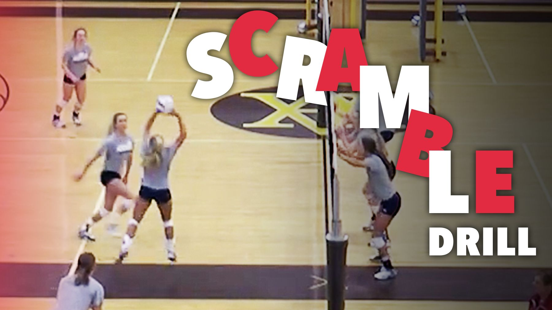 Scramble Drill The Art Of Coaching Volleyball Coaching Volleyball Volleyball Practice Volleyball Training