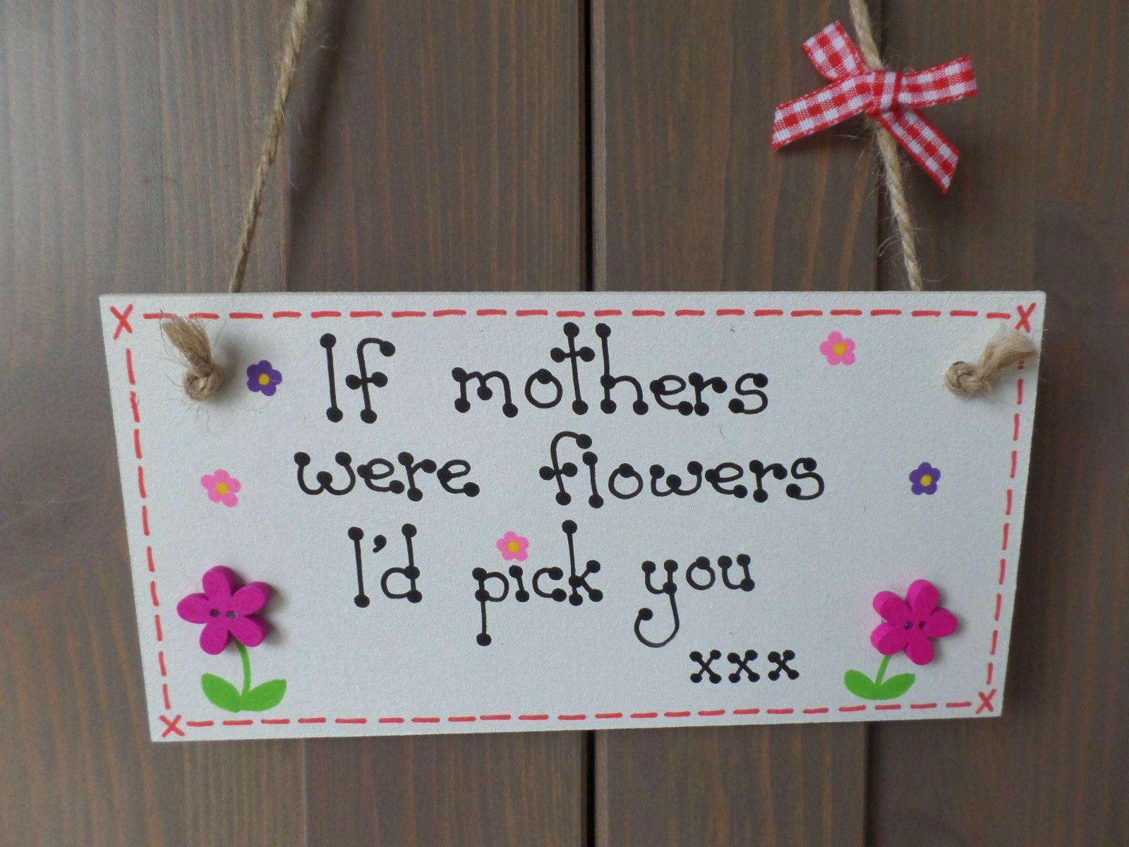 If mums sisters friends grandmas were flowers plaque