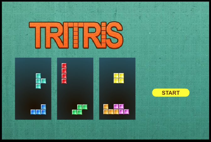 Tetra Squares Fit the shapes together without leaving any