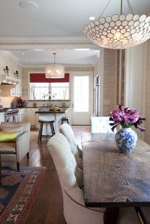 Historic Federal Hill Residence   Traditional   Dining Room   Baltimore    By Amanda Austin Interiors