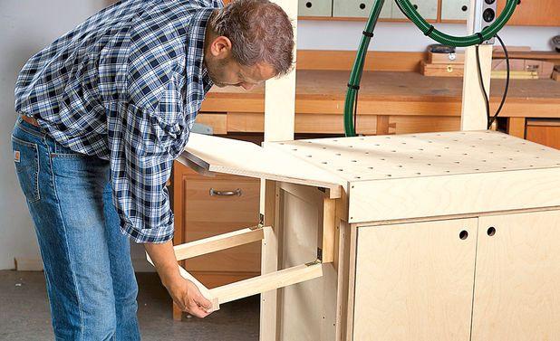 schleiftisch workbench pinterest werkstatt werkzeugwagen und tisch. Black Bedroom Furniture Sets. Home Design Ideas