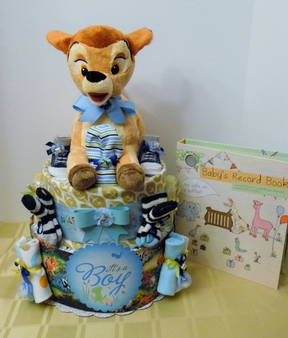 DISNEY THEMED BAMBI Diaper Cake Featuring Authentic Collectible Bambi With A Complimentary 96 Page Baby's Record Book.  Ready To Ship  #babyrecordbook DISNEY THEMED BAMBI  Diaper Cake Featuring Authentic Collectible Bambi With A Complimentary 96 Page Baby's Record Book.  Ready To Ship #babyrecordbook DISNEY THEMED BAMBI Diaper Cake Featuring Authentic Collectible Bambi With A Complimentary 96 Page Baby's Record Book.  Ready To Ship  #babyrecordbook DISNEY THEMED BAMBI  Diaper Cake Featuring Auth #babyrecordbook