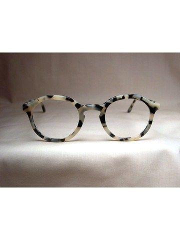 1a4e65bdafd7 Custom White Tortoise Shell Glasses on Indivijual Custom Eyewear ...