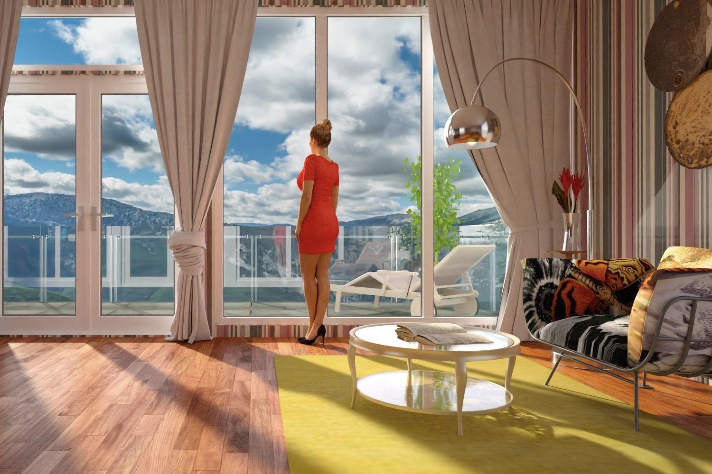 living room designed in floorplanner  living room