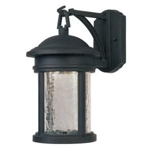 Cordelia Lighting Eagle Collection Wall Mounted Outdoor Oil Rubbed Bronze Lantern-HC0600 at The Home Depot