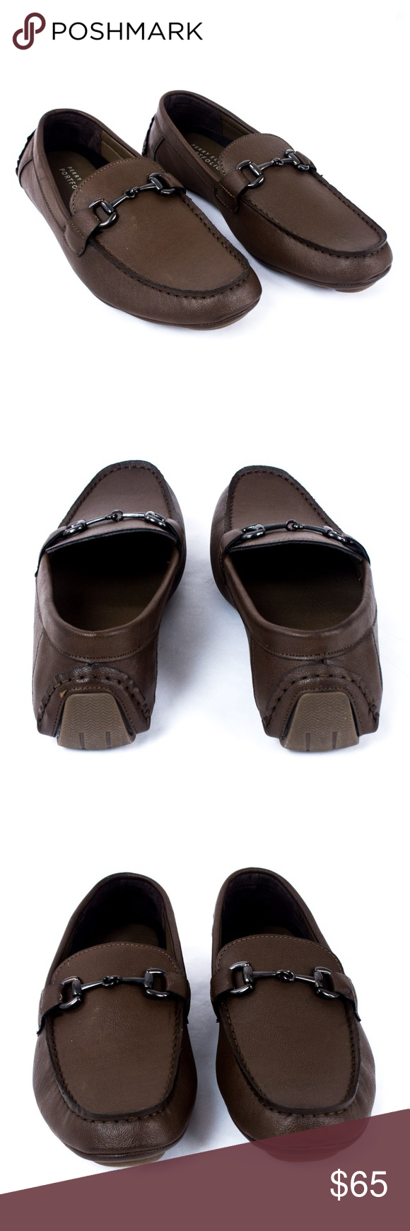 e194988ec01 Perry Ellis Loafer Shoe Mens Brown 11.5 and 8.5 Perry Ellis Nick Loafer Shoe  Mens Chocolate Brown Sz 11.5 and 8.5 SIZES AVAILABLE 11.5 and 8.5 MENS.