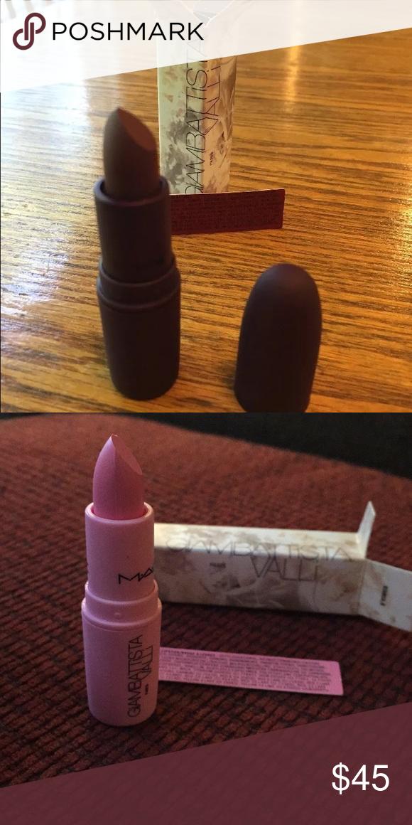 Two Mac lipsticks GiaMBattista Valli Makeup Lipstick