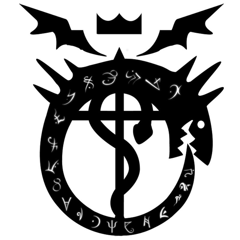 List Of Synonyms And Antonyms Of The Word Ouroboros Fullmetal Alchemist