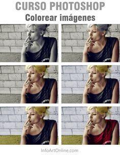 Curso de Photoshop-como colorear fotografias blanco y negro paso a paso
