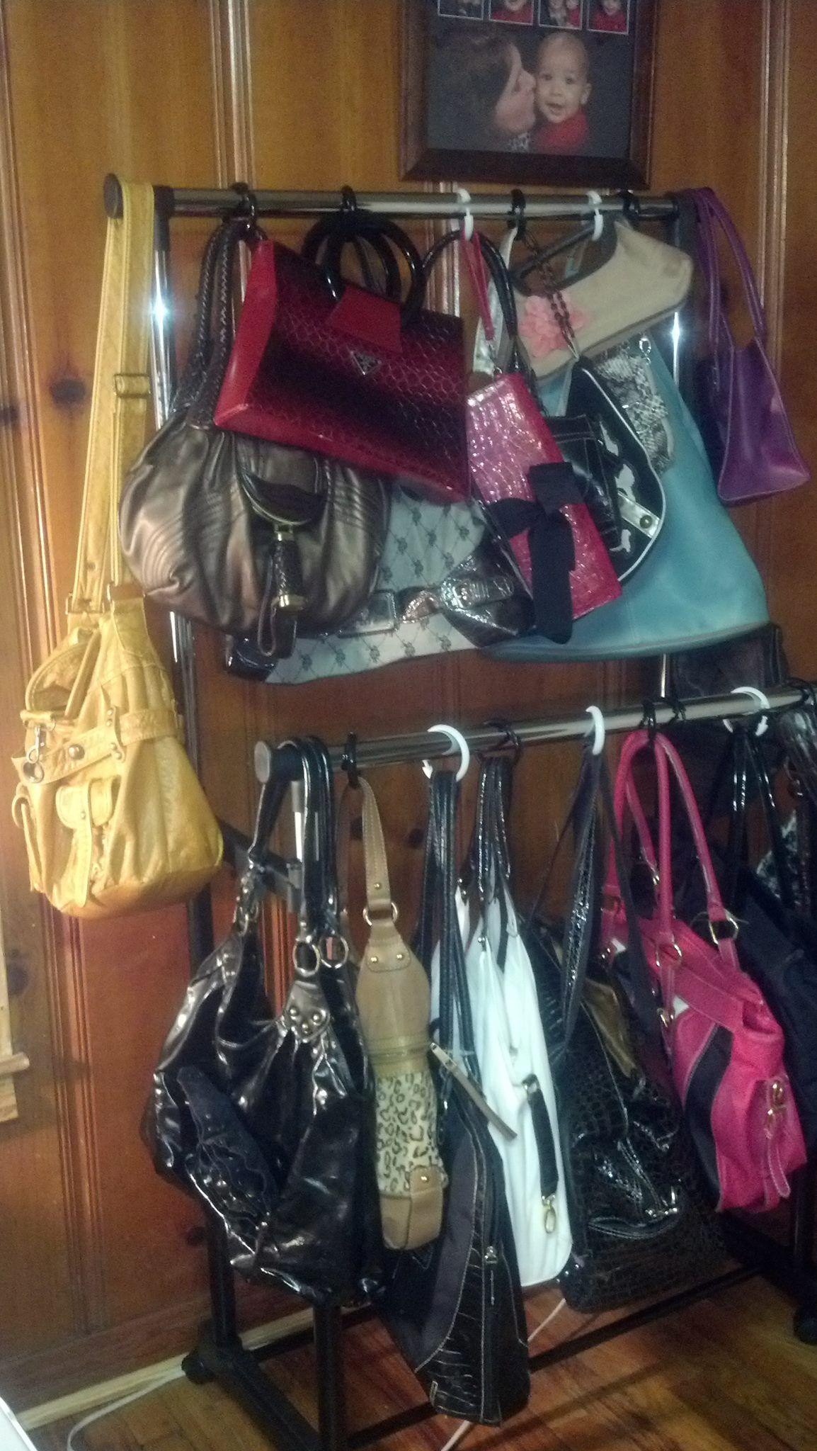 purse storage.  I need this!