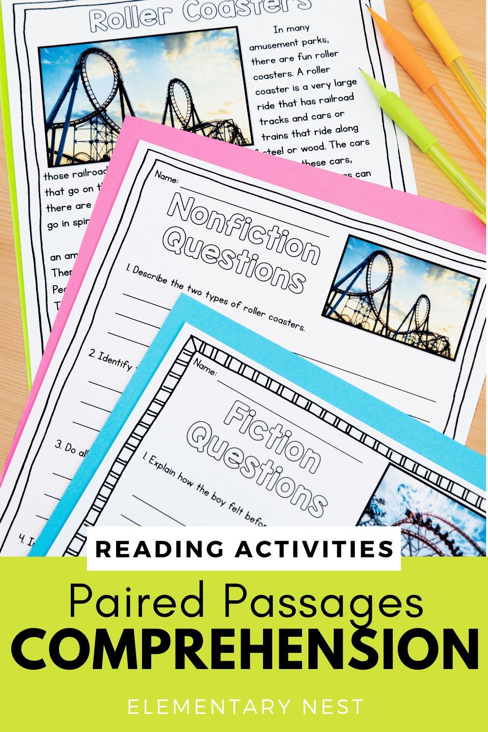 Paired Passages Comprehension Passages Digital With Google Slides Nonfiction Reading Activities Comprehension Passage Third Grade Activities [ 1500 x 1000 Pixel ]