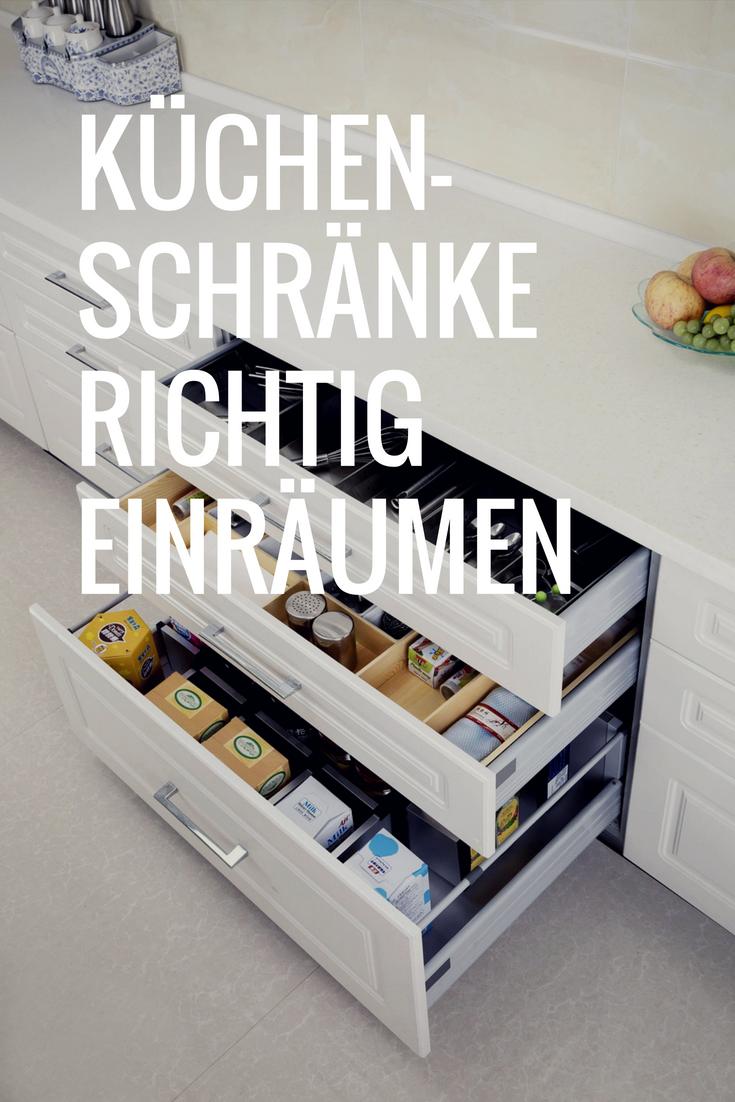Küchenschränke organisieren: Geschirr