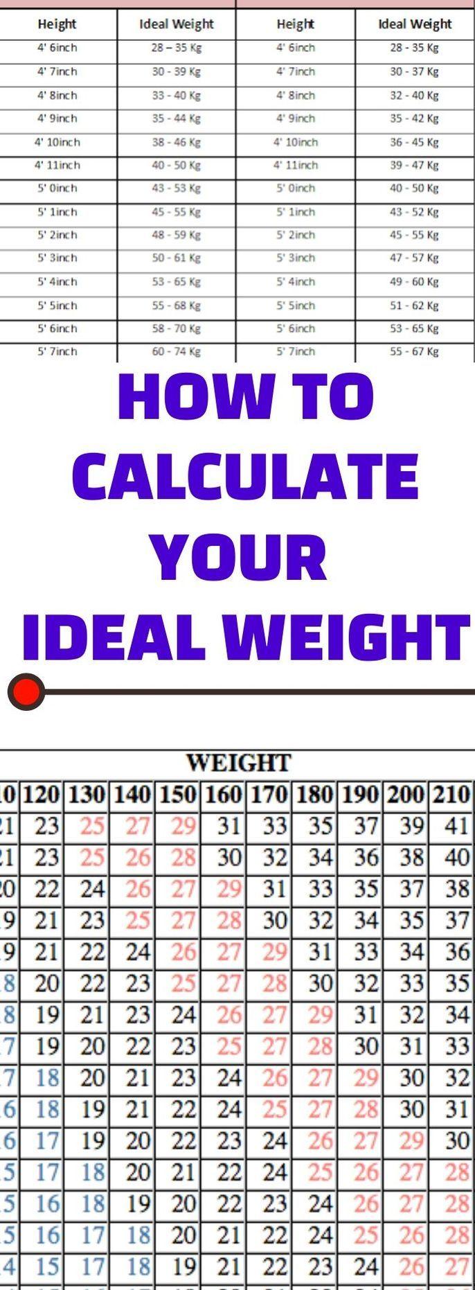 Ideal Body Weight Calculator Ideal Body Weight Ideal Body Weight Calculator