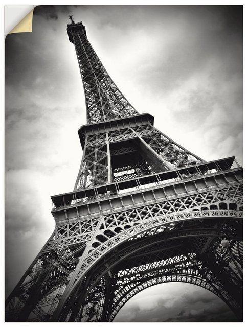 Premium Wandfolie »Melanie Viola: Eiffelturm Paris« #naturallandmarks