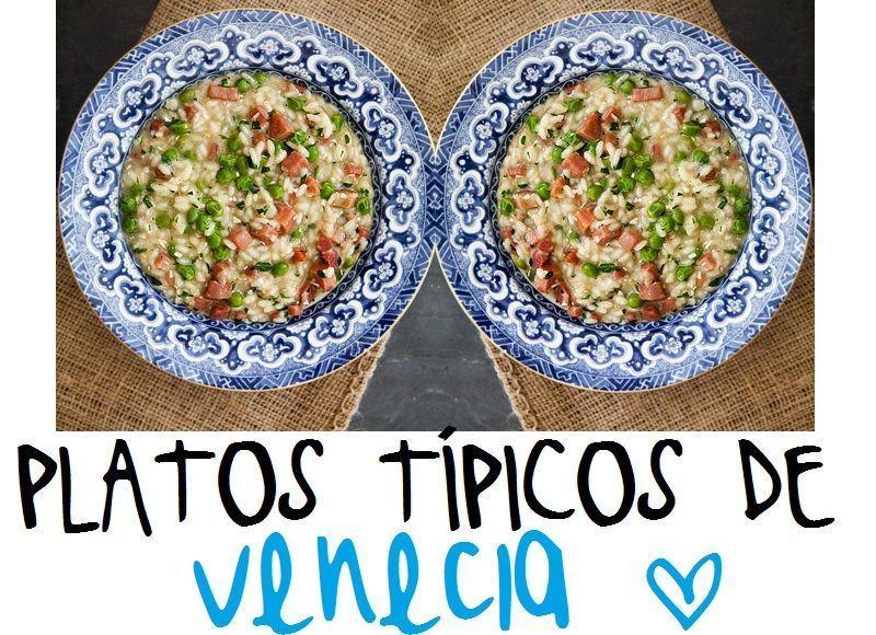 Gastronomía véneta. Te presentamos los platos típicos de Venecia