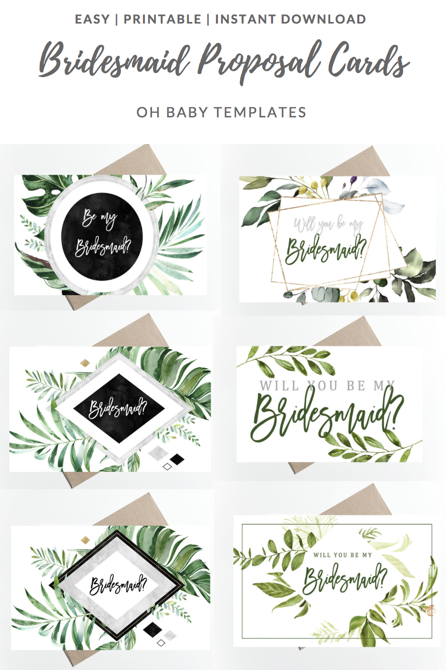 graphic regarding Bridesmaid Proposal Printable referred to as Will by yourself be my Bridesmaid Proposal Bins // Printable