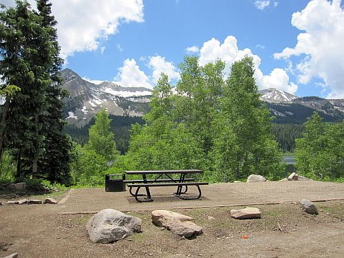 Lost lake campground near crested butte crested butte for Cabins near crested butte co