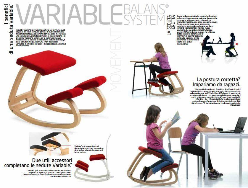 sedie ergonomiche Varier, modello Variable Best Price http://www ...