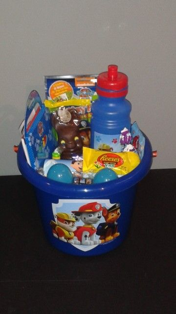 Paw patrol easter basket kreative gift boutique easter baskets paw patrol easter basket kreative gift boutique negle Images
